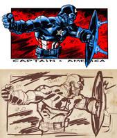 DSC - Ultimate Captain America by dichiara