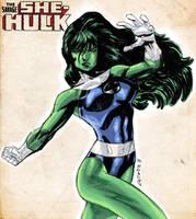 She-Hulk sketch by dichiara