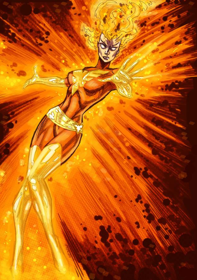 Dark Phoenix by dichiara