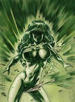 She-Hulk - another Boom by dichiara