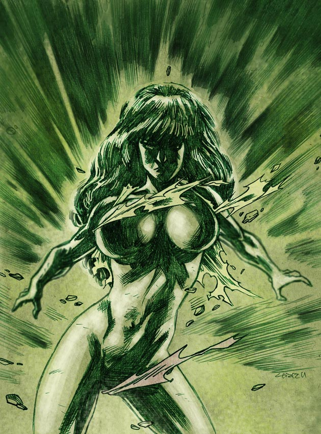 She-Hulk - another Boom by dichiara