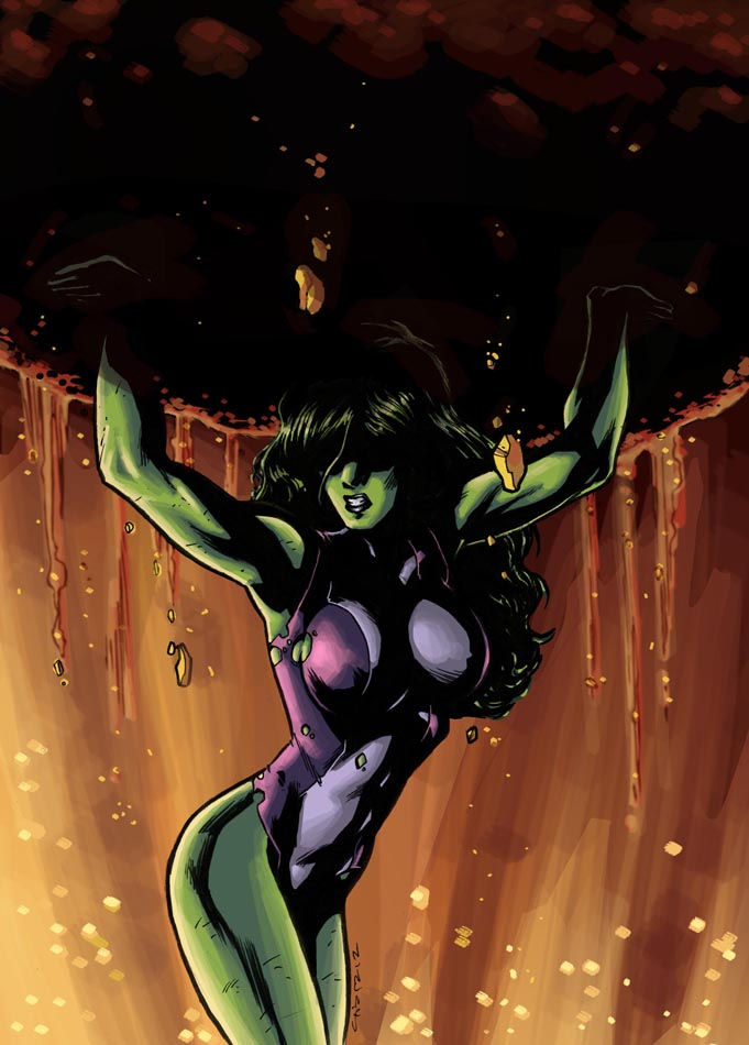 She-Hulk 2012 by dichiara