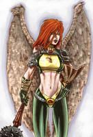 HawkGirl by dichiara