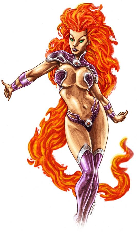 Starfire DC 52 by dichiara