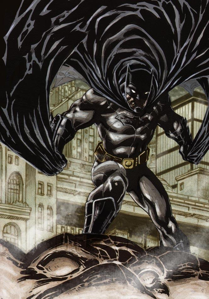 Batman DC new 52- Finished by dichiara on DeviantArt