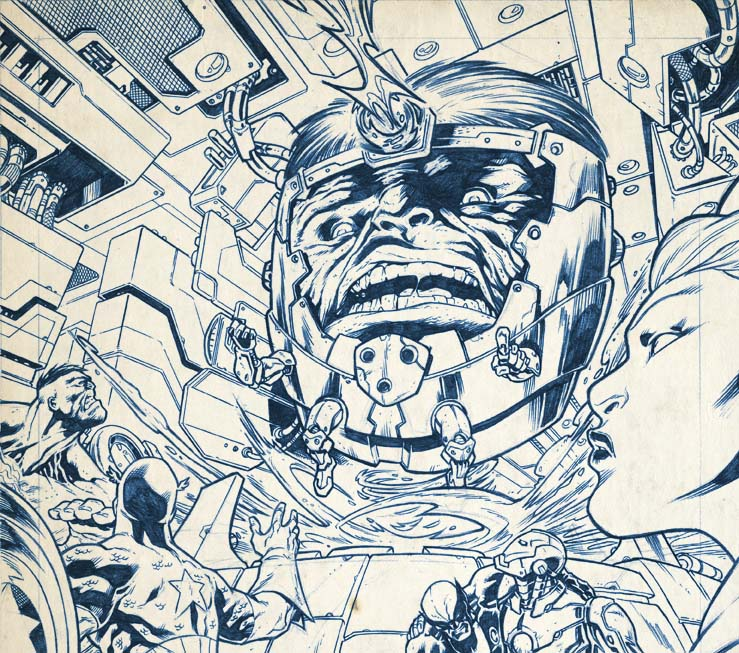 Modok Pannel by dichiara