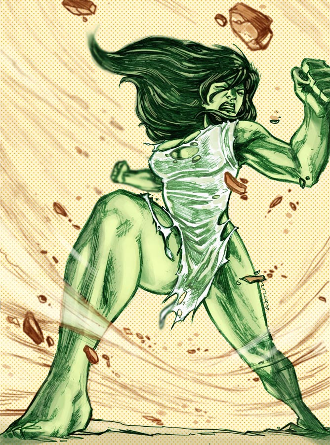 The Savage She-Hulk by dichiara