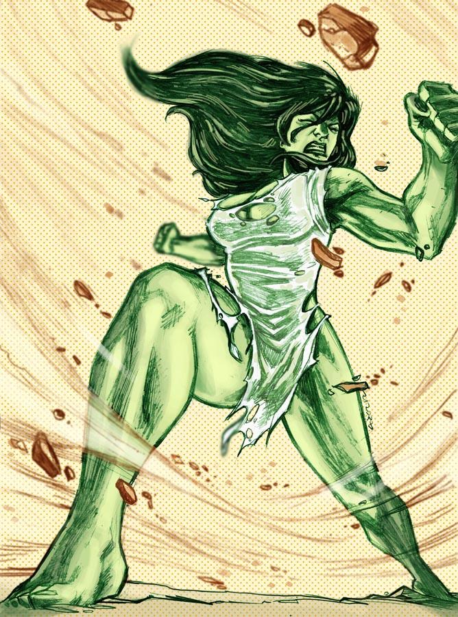 The Savage She-Hulk by dichiara