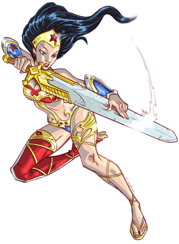 Ame Comi Wonder Woman by dichiara