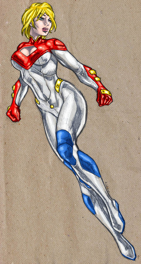 Power Girl my new 52 by dichiara