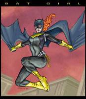 Batgirl Sketch. by dichiara