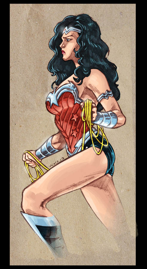Wonder Woman 2013 by dichiara