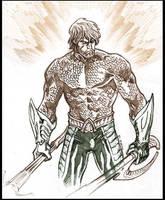 Aquaman sketch. by dichiara