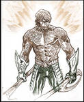 Aquaman sketch.