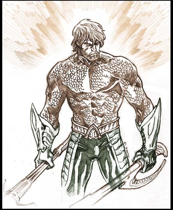 Aquaman Sketch. By Dichiara On DeviantArt