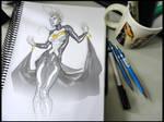 Ororo sketch.