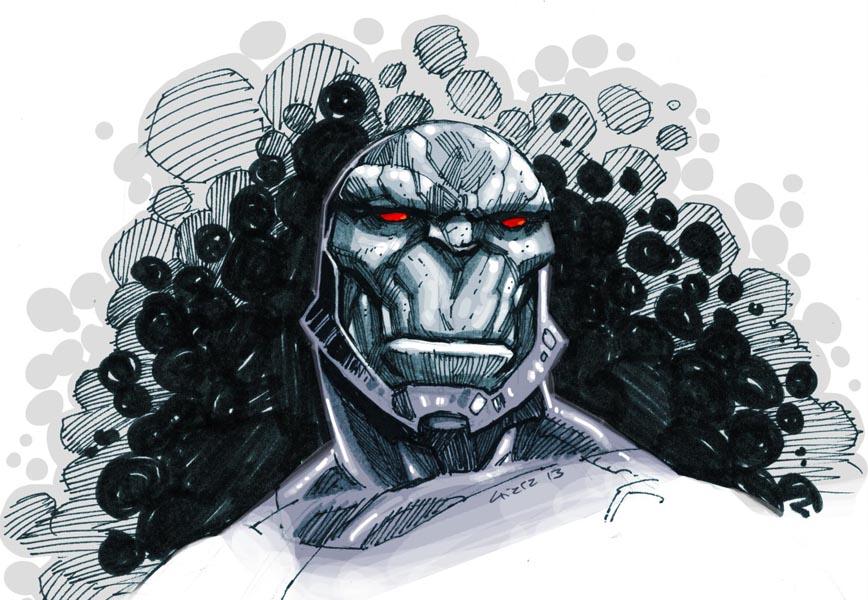 Darkseid sketch by dichiara