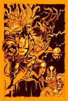 Hellboy sketch by dichiara