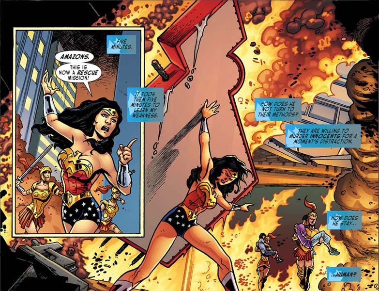 Sensation Comics Featuring Wonder Woman #2 - page by dichiara