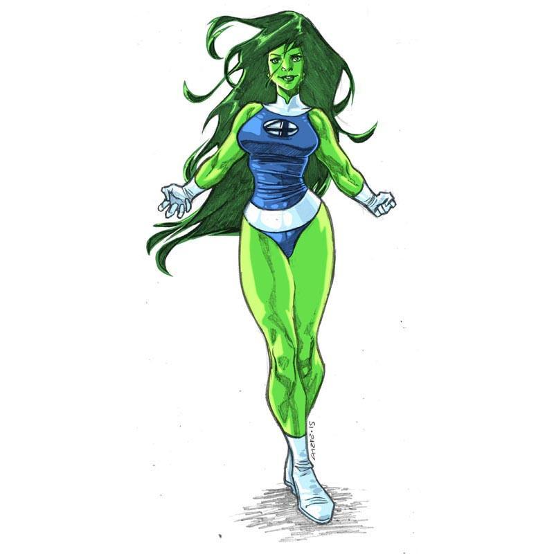 She-Hulk By Dichiara On DeviantArt