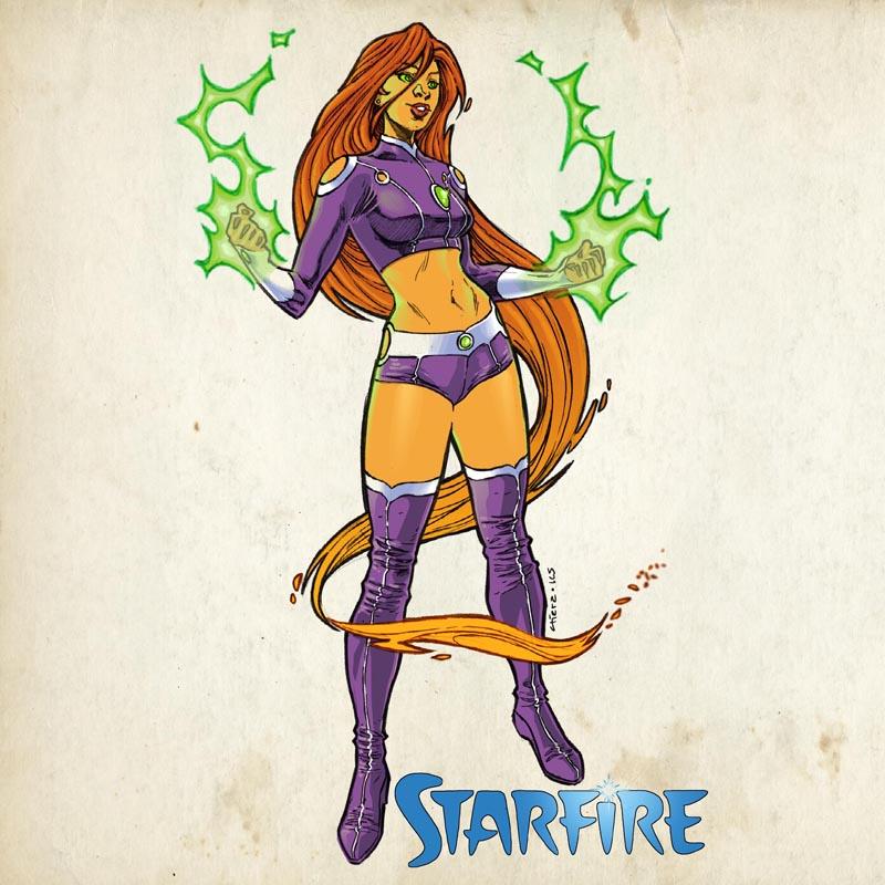 Starfire by dichiara