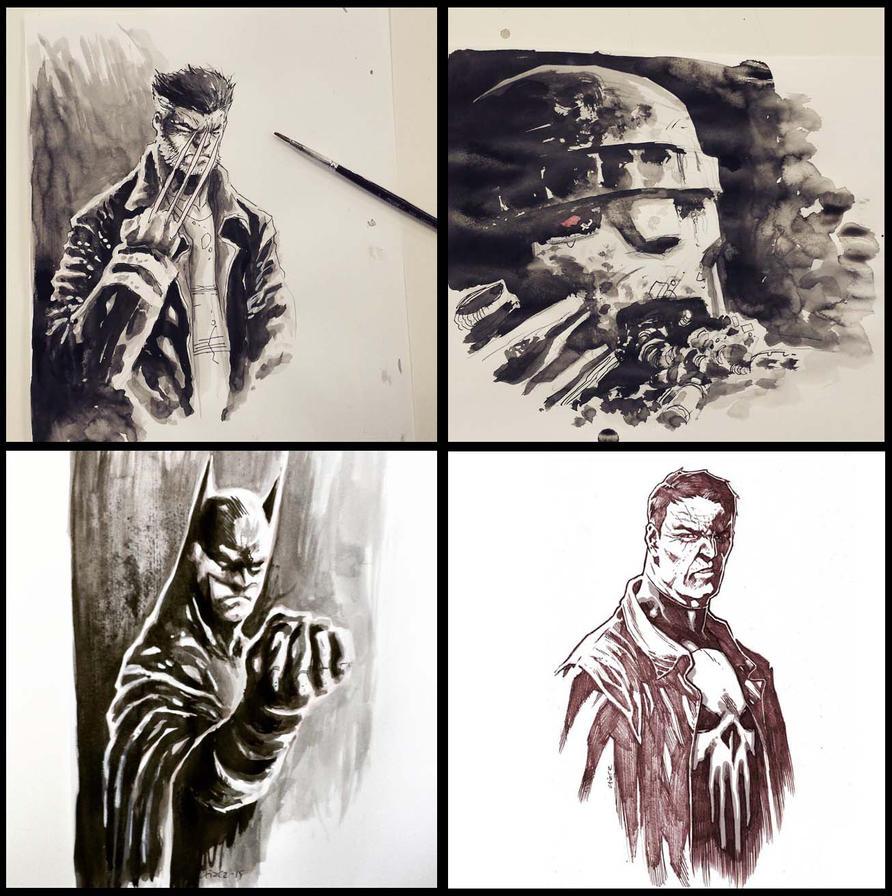 Sketches 2015 by dichiara