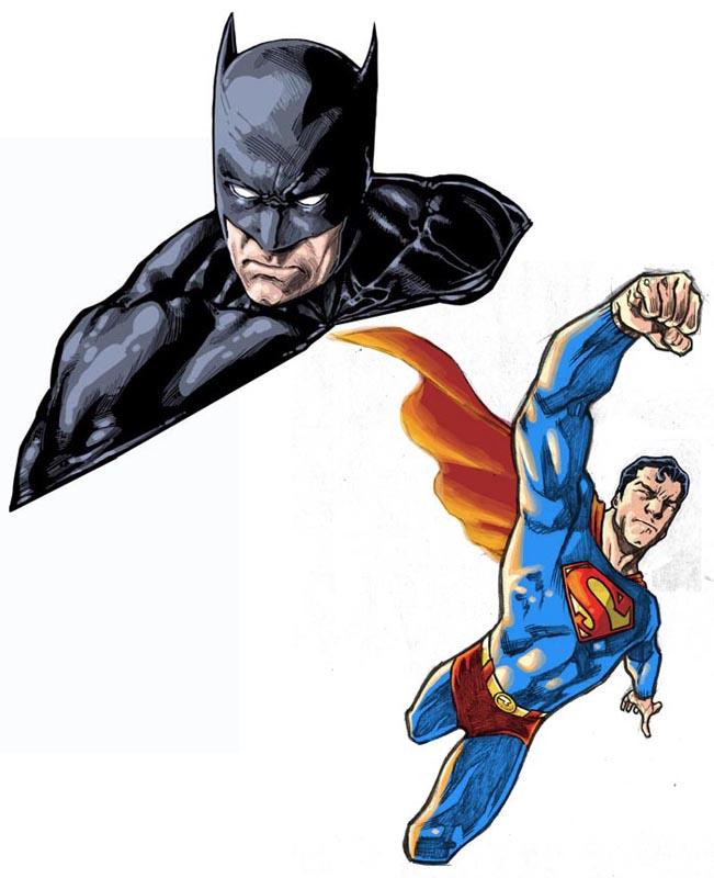 Superman/Batman by dichiara