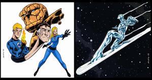 Fantastic Four / Silver Surfer