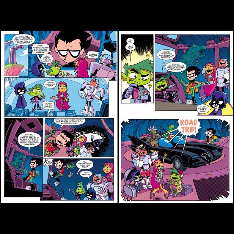 Teen Titans Go! #32 by dichiara