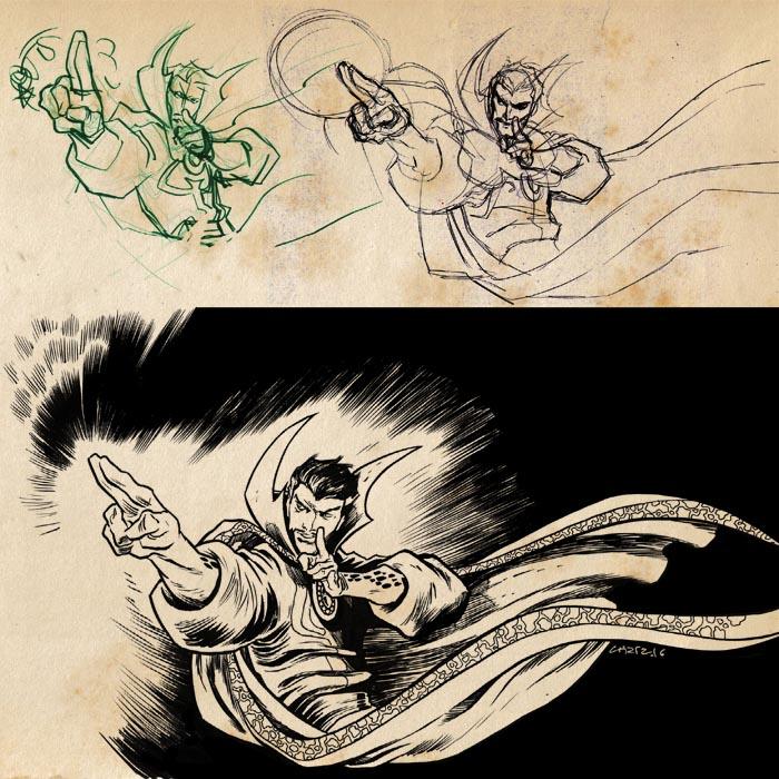 Doctor Strange by dichiara