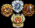 Commission - Pokemon House Crests
