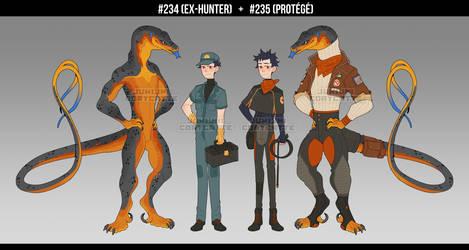 [ADOPT] ex-hunter and protege [CLOSED]