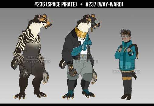 [ADOPT] Space Pirate and Way-Ward [CLOSED]