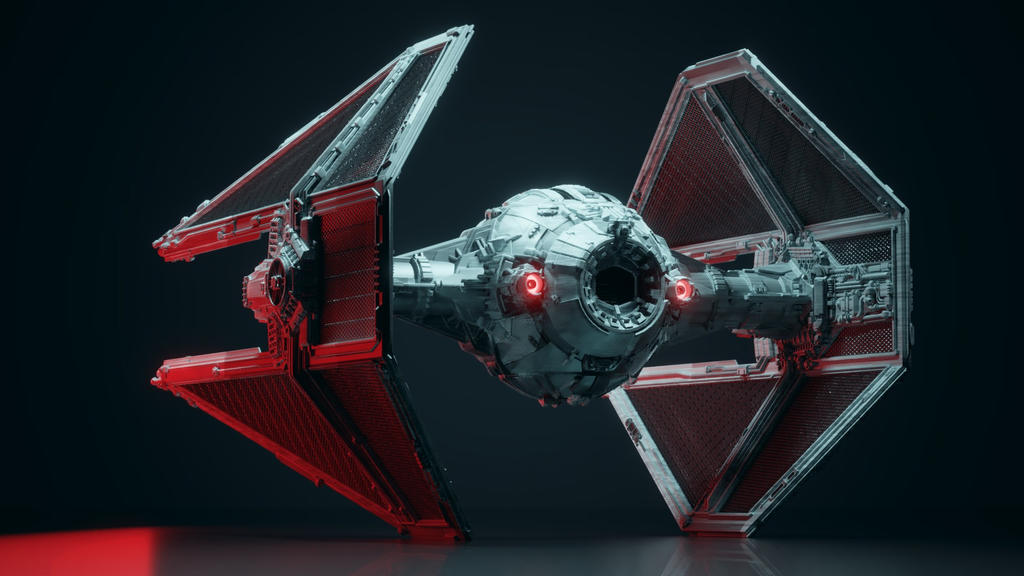 STAR WARS TIE Interceptor by wanoco4D