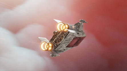 Flying A-wing (Video)
