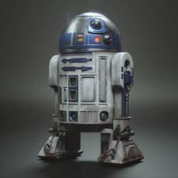 R2-D2 3D Art