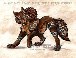 Lyanti Wolf Commission by WildSpiritWolf