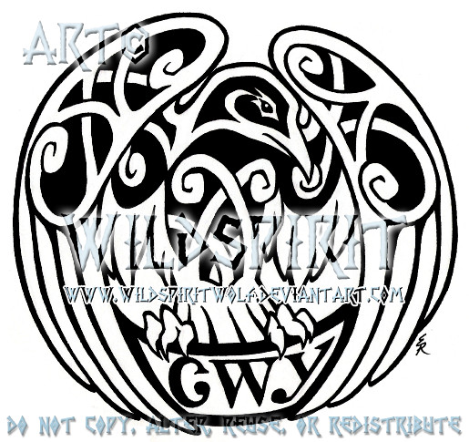 Celtic Raven CWY Tattoo by Celtic Raven Tattoos
