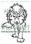 Stalking She-Wolf Tattoo