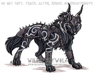 Tribal Armored Wolf Commission