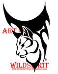 Tribal Cat Tattoo