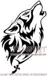 Gypsy's Fury Wolf Tattoo