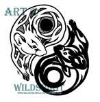 Yin-Yang Rats Tattoo