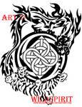 Tiger And Dragon Kenpo Tattoo