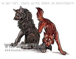 Radoslav And Corina Commish by WildSpiritWolf