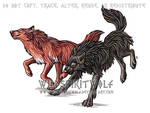 Radoslav And Corina Wolves