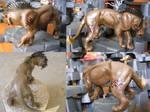 Junikari Lion Sculpture