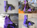 Midnight Wolf Sculpture