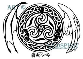 Precious Life Celtic Tattoo by WildSpiritWolf