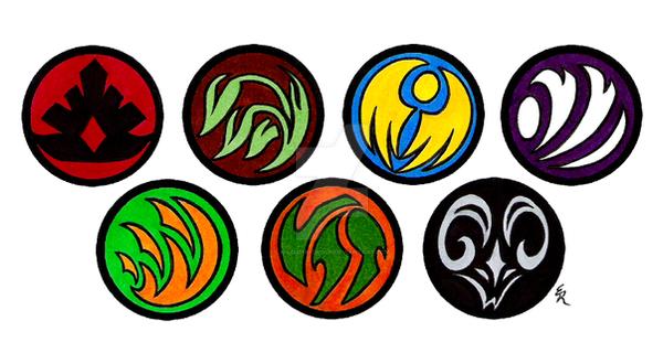 Clan Medallions Commission by WildSpiritWolf